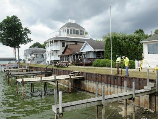 Buckeye Lake Surveying