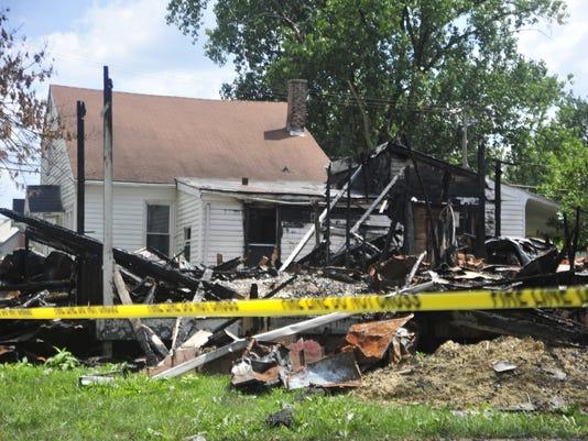 1- Burned Houses