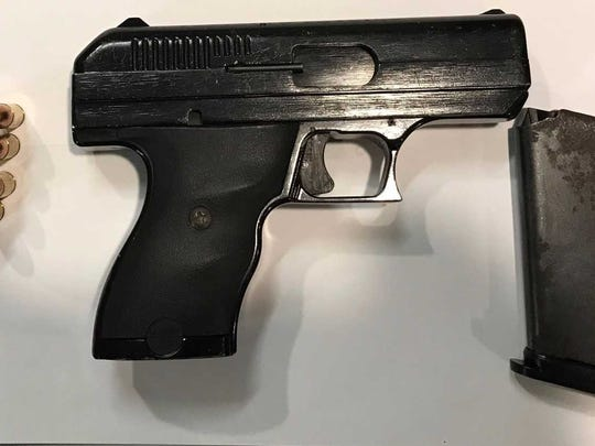Police say this was the weapon found in Corey Kirby's