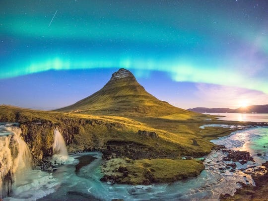 A trip to Iceland to see the aurora borealis may tempt