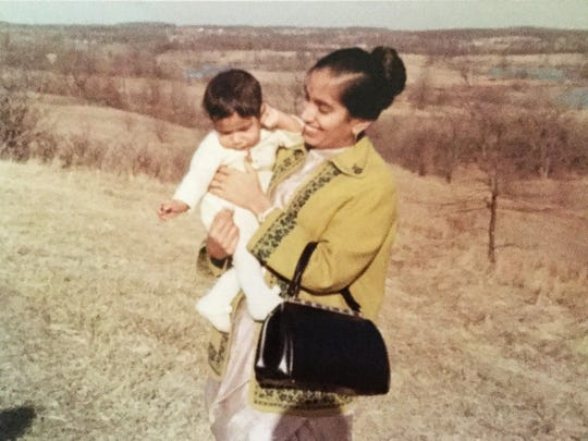 Damyanti Gupta was asked by her boss at Ford to quit working when she was pregnant with her first son, Sanjay. She transferred to a new department and continued working.