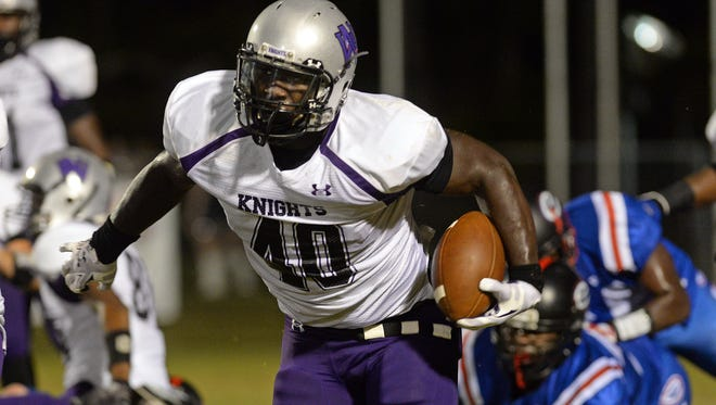 North Webster's Devin White announced his college decision on Friday.