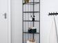 A corner shelf unit in Ikea's Rönnskär series.
