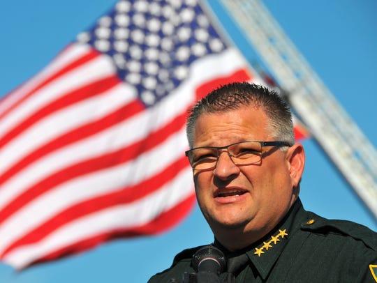 Brevard County Sheriff Wayne Ivey in November 2016.