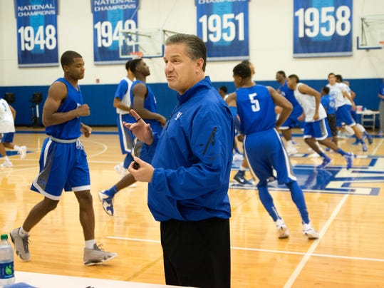University Of Kentucky Athletics October An Exciting: The Real Big Blue Madness Is Kentucky Basketball Practice