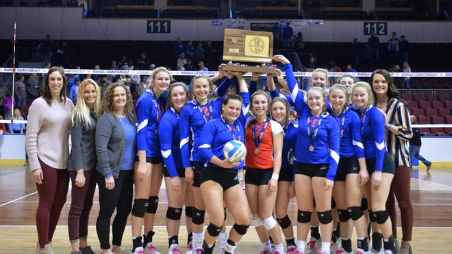 Last year's Class 2A state champion, Wabaunsee, moved to No. 1 in this week's KVA 2A rankings, released Wednesday.