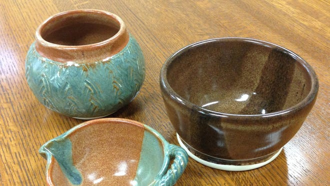Soup bowls made by a Dover artist will be given away at a $20 soup meal served Wednesday at Wilmington's St. Stephen's Lutheran Church.