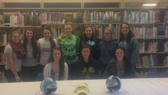 Enka senior SallyAnne Johnson has signed to play college volleyball for Mars Hill.
