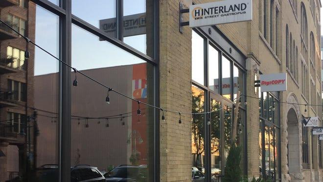 Hinterland Erie St. Gastropub, 222 E. Erie St., closed in August.