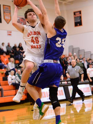 Gibsonburg's Josh Ernsthausen had 19 points, eight assists and six rebounds Thursday.