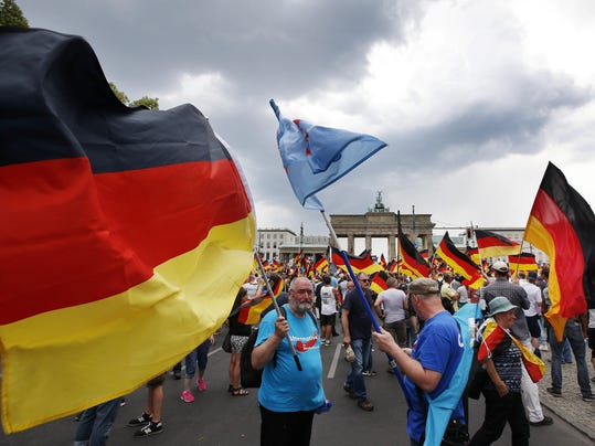 Germany Populist Protest