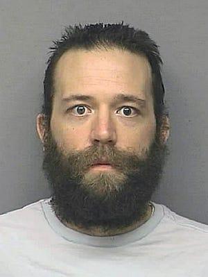 Scott Alan Carmitchel, 34, a suspect in a robbery at a Las Vegas casino.