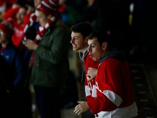 Cornell versus Princeton Men's hockey. Friday, January