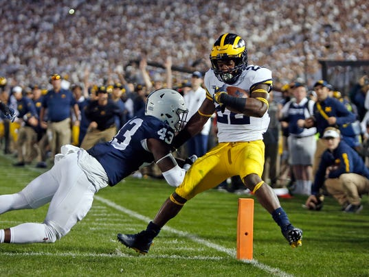 Image result for michigan vs penn state 2017