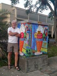 Artist Jim Kalupa.