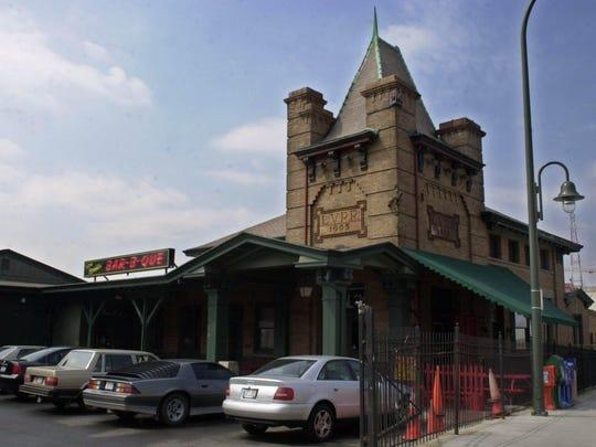 Dinosaur Bar-B-Q was once the Lehigh Valley Railroad Station.