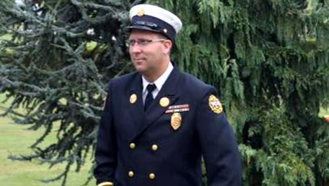 Clif Laughman was promoted to chief of the West Manchester Township Fire Department last week. Laughman, 36, has been with the department since 2000 and most recently served as assistant fire chief of the Shiloh Fire Company.