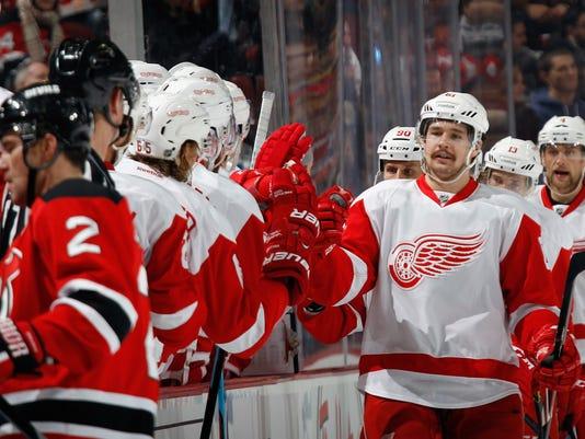 Detroit Red Wings v New Jersey Devils