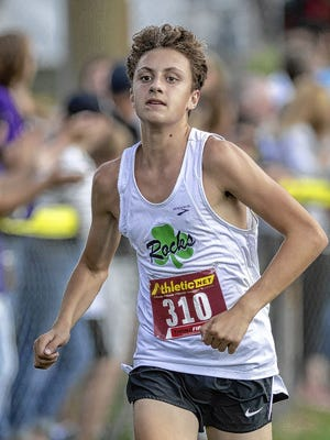 Sophomore Liam Shaughnessy is among the top returnees for the Coffman boys cross country team after finishing 61st last season at regional.