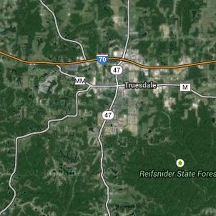 An accident has closed some lanes along east and westbound Interstate 70.