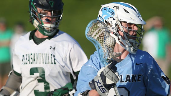 Pleasantville defeated Westlake 13-6 in  boys lacrosse