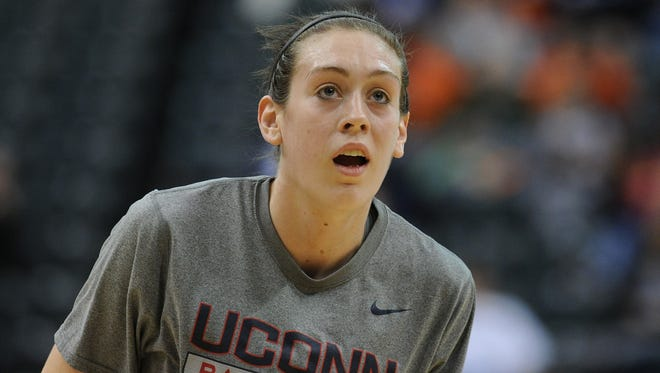 Connecticut Huskies forward Breanna Stewart loved watching Syracuse women play while growing up