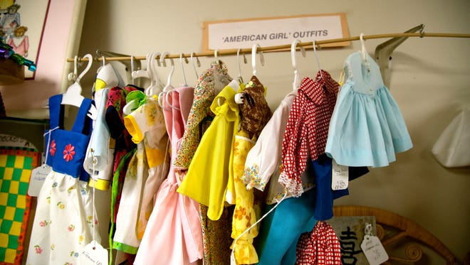 Everything in the gift shop was made by seniors, who crafted all sorts of items, such as doll clothes, baby items and blankets.