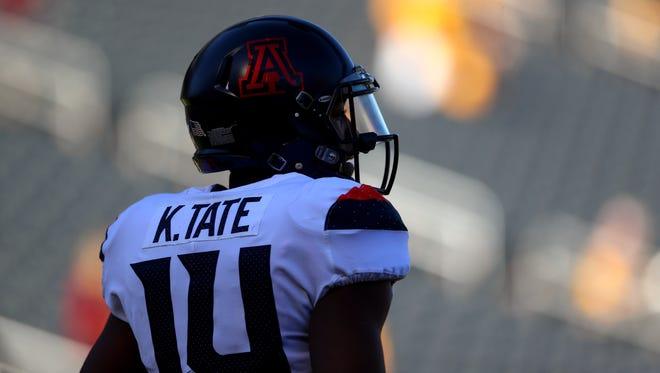 Arizona Wildcats quarterback Khalil Tate.