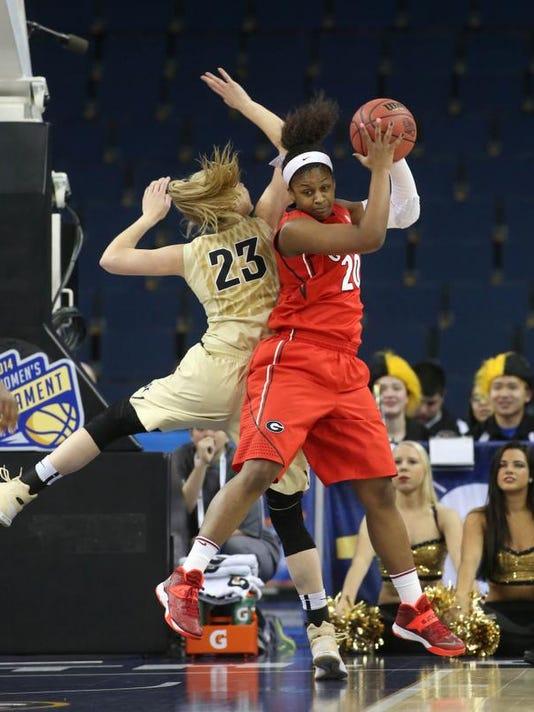 SEC Georgia Vanderbilt Basketball (2)