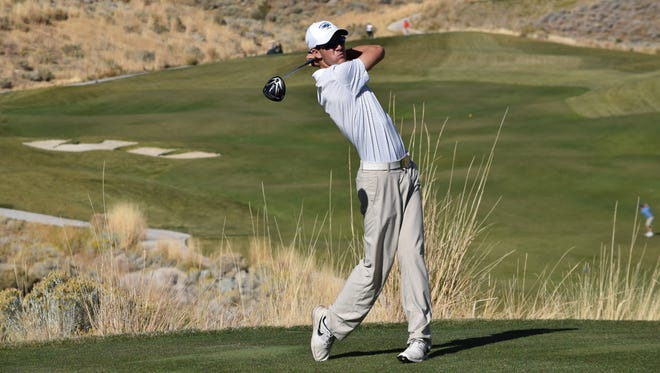 Junior Grant Booth is on the verge of setting the Wolf Pack's single-season stroke average record.