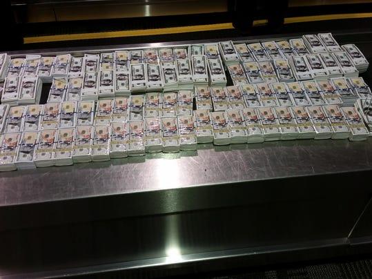 CBP Detroit Metro Airport Hell Money Seizure