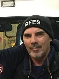 Ron Gentry has been named paramedic of the year at Great Falls Emergency Services.