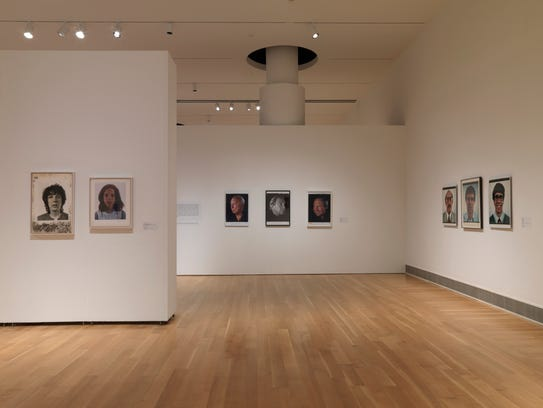 The 'Chuck Close Photography' exhibit continues through