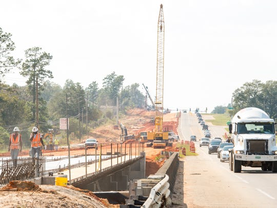 Road construction continues on West Nine Mile Road