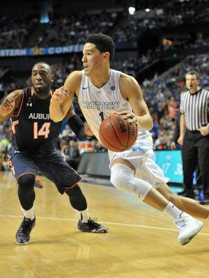 Moss Point native Devin Booker is one of six men's basketball players representing Mississippi in the NCAA Tournament.