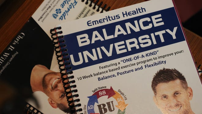 Chris Williams has written a book on balance called Balance University.