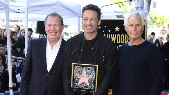 Garry Shandling joins David Duchovny and producer Chris