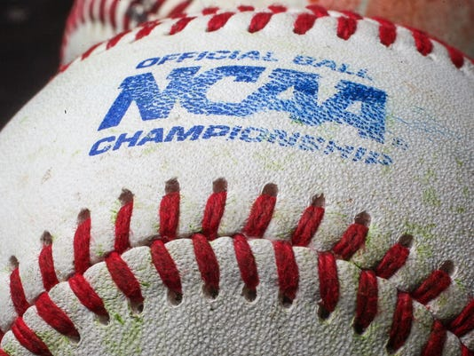 stock NCAA issued baseball