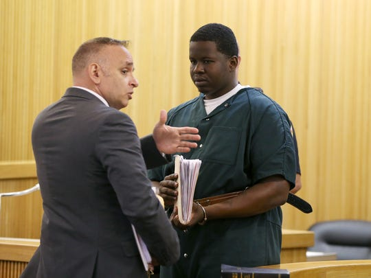 (right) Avery Hopes, who is accused of the Thanksgiving