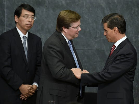 MEXICO-JAPAN-TOYOTA-PENA NIETO