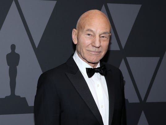 Image result for sir patrick stewart oscars