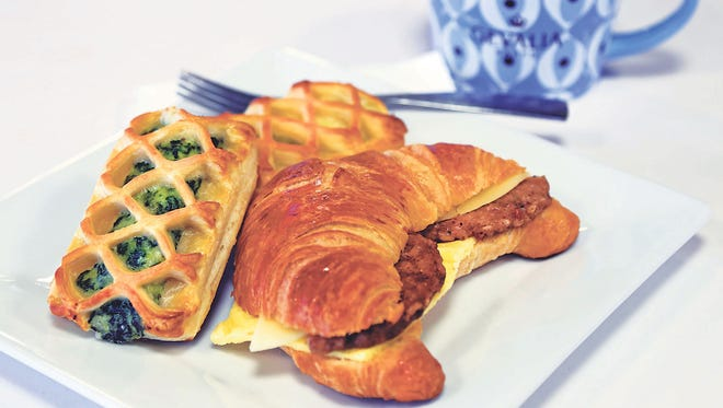 Breakfast pastries and croissants are two specialties at Buttercream Bakehouse.