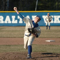 Gibraltar's Anthony Laughlin had 15 strikeouts in Thursday's win over Southern Door.