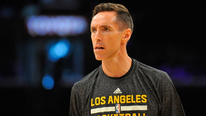 Steve Nash won't play for the Lakers this season after trying to come back.