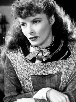 Katharine Hepburn in a scene from 'Little Women.'