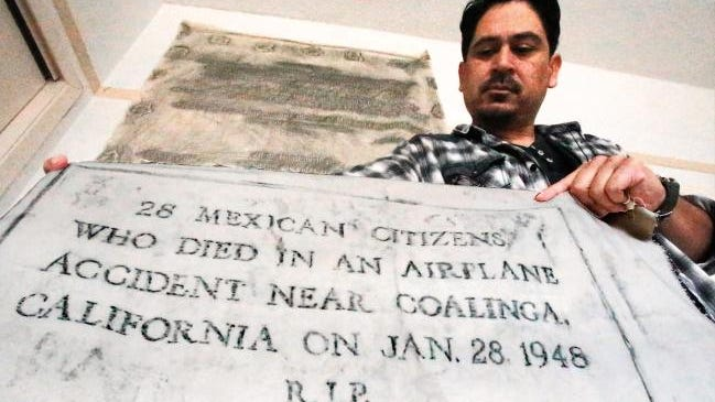 """Tim Z Hernandez has written the book """"All They Will Call You"""" about the Los Gatos plane crash."""