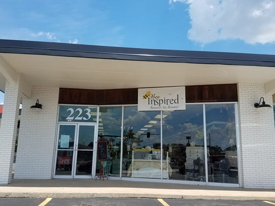 Bee Inspired is a new home decor boutique in Gallatin.