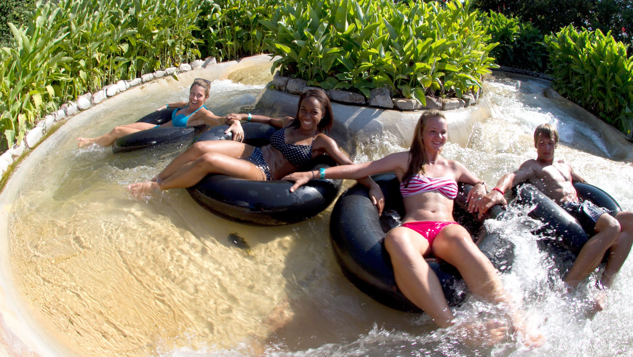 Nothing beats the heat of a Texas summer like a day at Schlitterbahn near San Antonio, the runner-up in our Readers' Choice Awards for Best American Water Park. At this popular water park between Austin and San Antonio, patrons cool off with three miles of tubing, three uphill water slides and The Falls, the world's longest water-park ride.