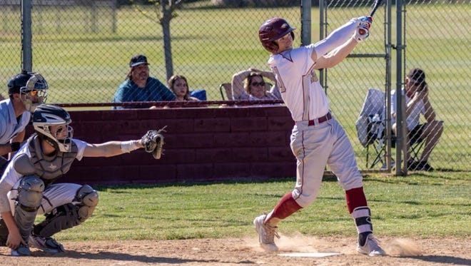West Valley outfielder Derek Ray (right) is one of four area players to make the 2018 all-Northern Section teams.