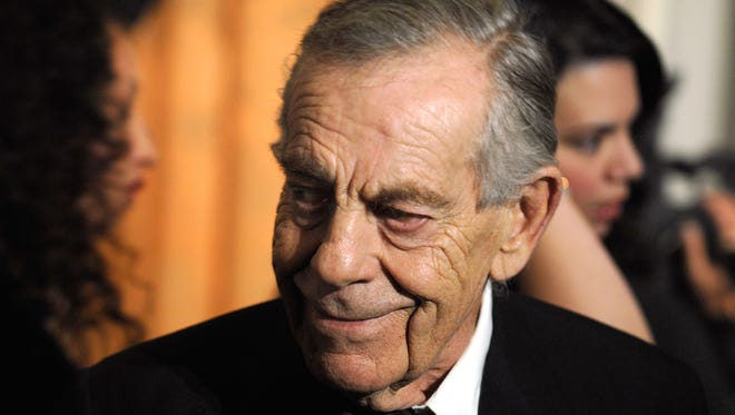 CBS 60 Minutes correspondent: Morley Safer attends the 18th Annual Broadcasting & Cable Hall of Fame Awards at the Waldorf Astoria Basildon Room on October 21, 2008 in New York City.  (Photo by Joe Corrigan/Getty Images)